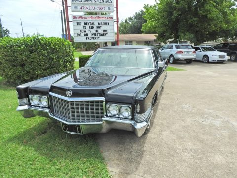 Original 1970 Cadillac Fleetwood for sale