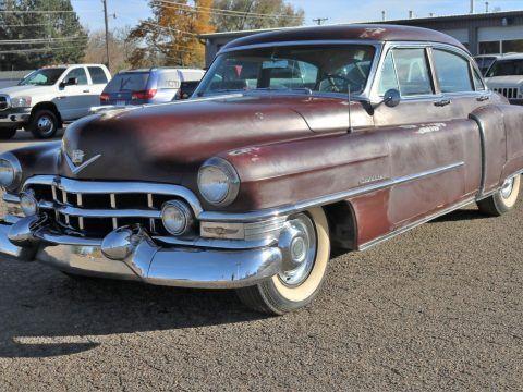 barn find 1952 Cadilla Series 62 sedan for sale