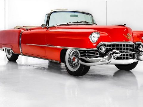 gorgeous 1954 Cadillac Series 62 Convertible 4 year long restoration for sale