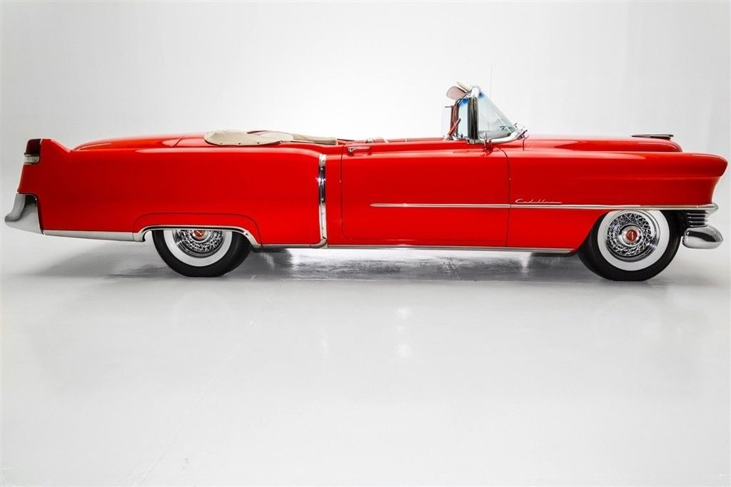 gorgeous 1954 Cadillac Series 62 Convertible 4 year long restoration