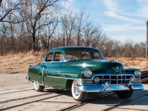 new parts 1951 Cadillac Series 61 Sedan partly restored original for sale