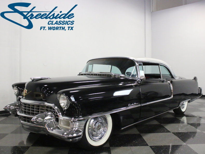 resto mod 1955 cadillac series 62 coupe for sale. Black Bedroom Furniture Sets. Home Design Ideas