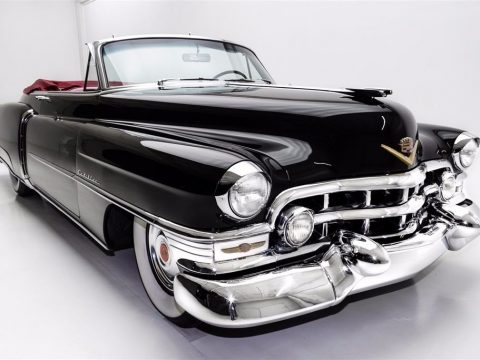 restored 1952 Cadillac Series 62 Convertible for sale