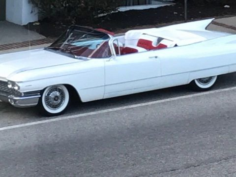 converted brakes 1960 Cadillac Series 62 Convertible for sale