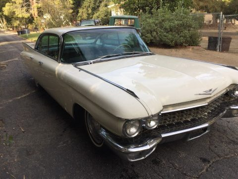 good running 1960 Cadillac DeVille Sedan for sale