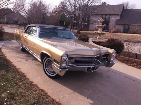 needs TLC 1966 Cadillac Eldorado Biarritz convertible for sale