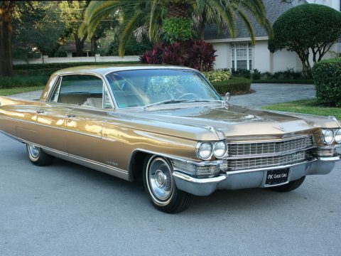 new paint 1963 Cadillac Fleetwood Sixty Special for sale