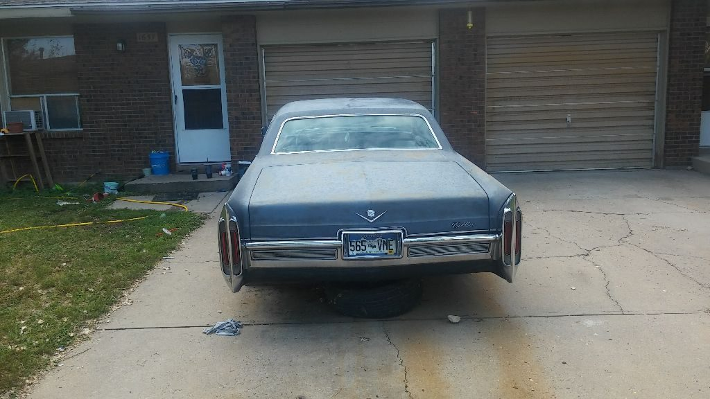 original except engine 1966 Cadillac Coupe DeVille