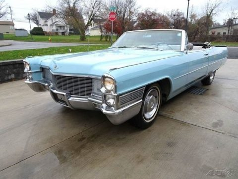 original survivor 1965 Cadillac Deville Deville Convertible for sale