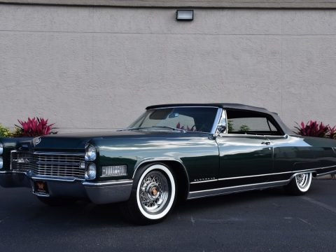 pinnacle of luxury 1966 Cadillac Eldorado Convertible for sale