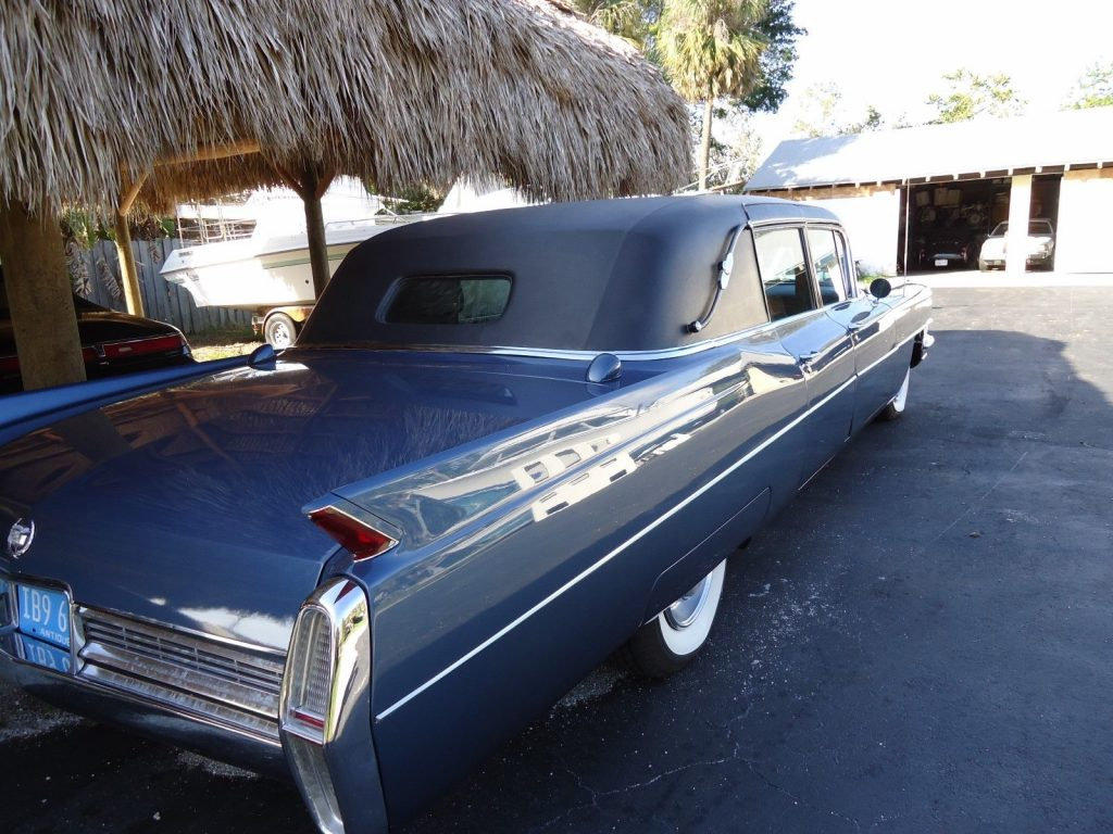 rare 1965 Cadillac Fleetwood Limousine