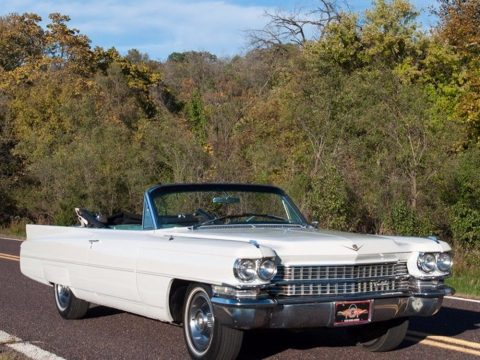 very clean 1963 Cadillac Deville Convertible for sale
