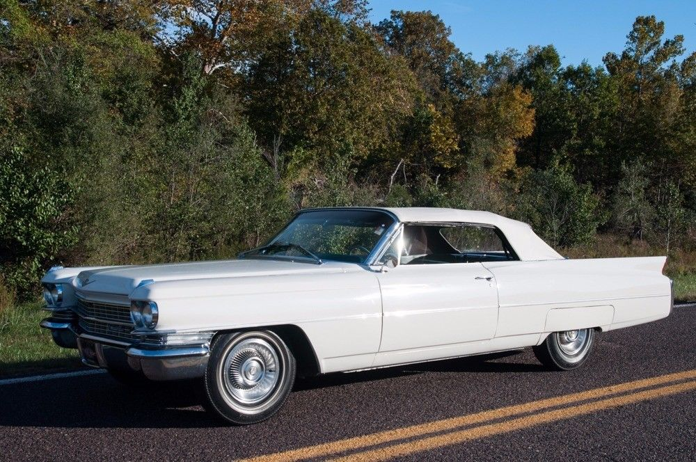 very clean 1963 Cadillac Deville Convertible