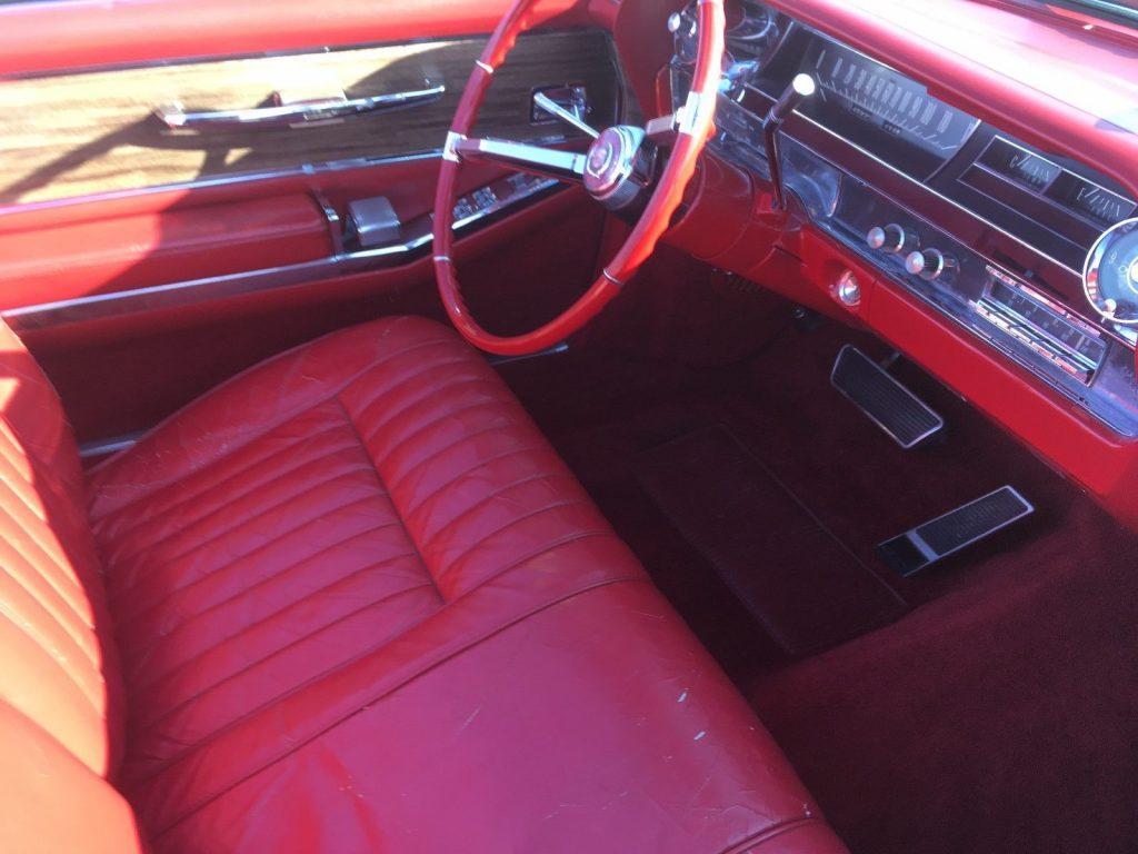 very clean 1963 Cadillac Eldorado convertible