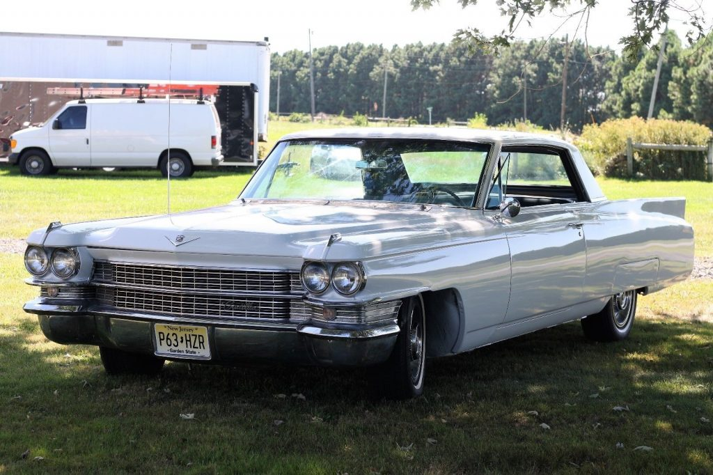 very smooth 1963 Cadillac Coupe DeVille