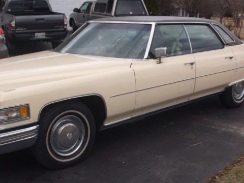 NICE 1976 Cadillac DeVille for sale