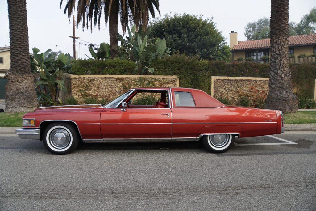 STUNNING 1975 Cadillac Deville