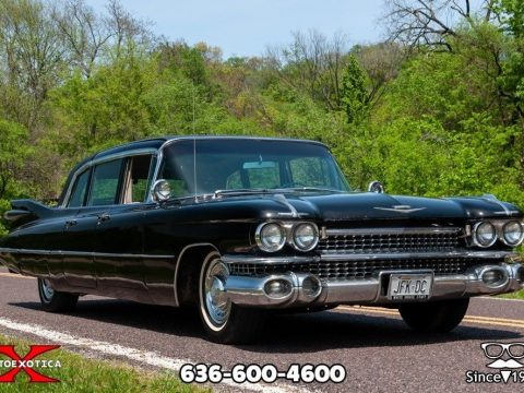 STUNNING 1959 Cadillac Fleetwood Six Window Limousine for sale