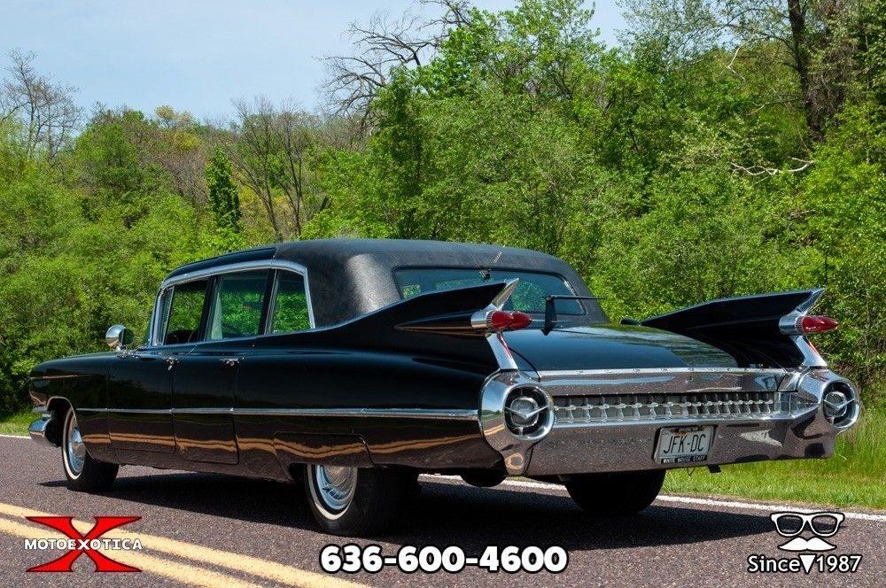 STUNNING 1959 Cadillac Fleetwood Six Window Limousine