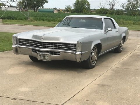 mild custom 1968 Cadillac Eldorado Fleetwood for sale