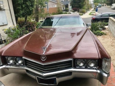 serviced 1970 Cadillac Eldorado for sale
