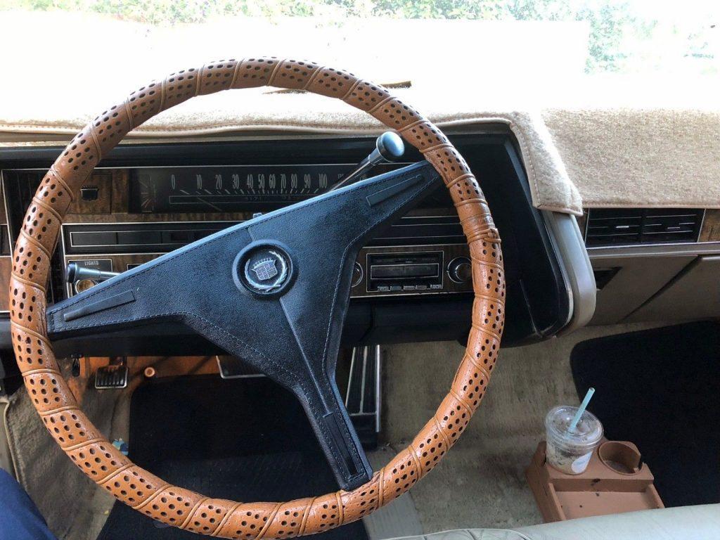 serviced 1970 Cadillac Eldorado
