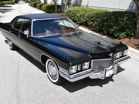 very clean 1972 Cadillac Sedan DeVille for sale